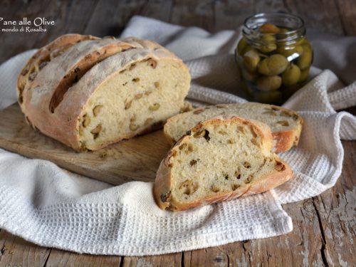 Pane alle Olive (Ricetta tradizionale e Bimby)
