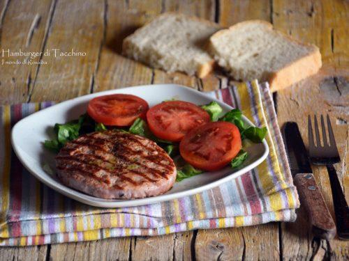 Hamburger di Tacchino (Ricetta tradizionale e Bimby)
