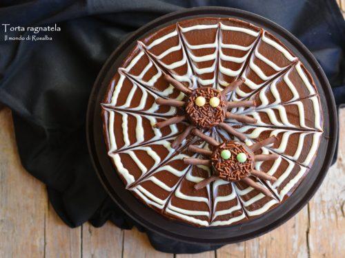 Torta ragnatela (Ricetta tradizionale e Bimby)
