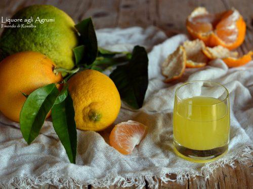 Liquore agli Agrumi (Ricetta tradizionale e Bimby)