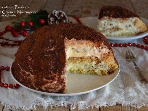 Zuccotto di Pandoro con Crema al Mascarpone (Ricetta tradizionale e Bimby)