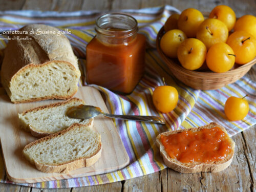 Confettura di Susine gialle (Ricetta tradizionale e Bimby)