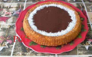crostata morbida ciocco e cocco