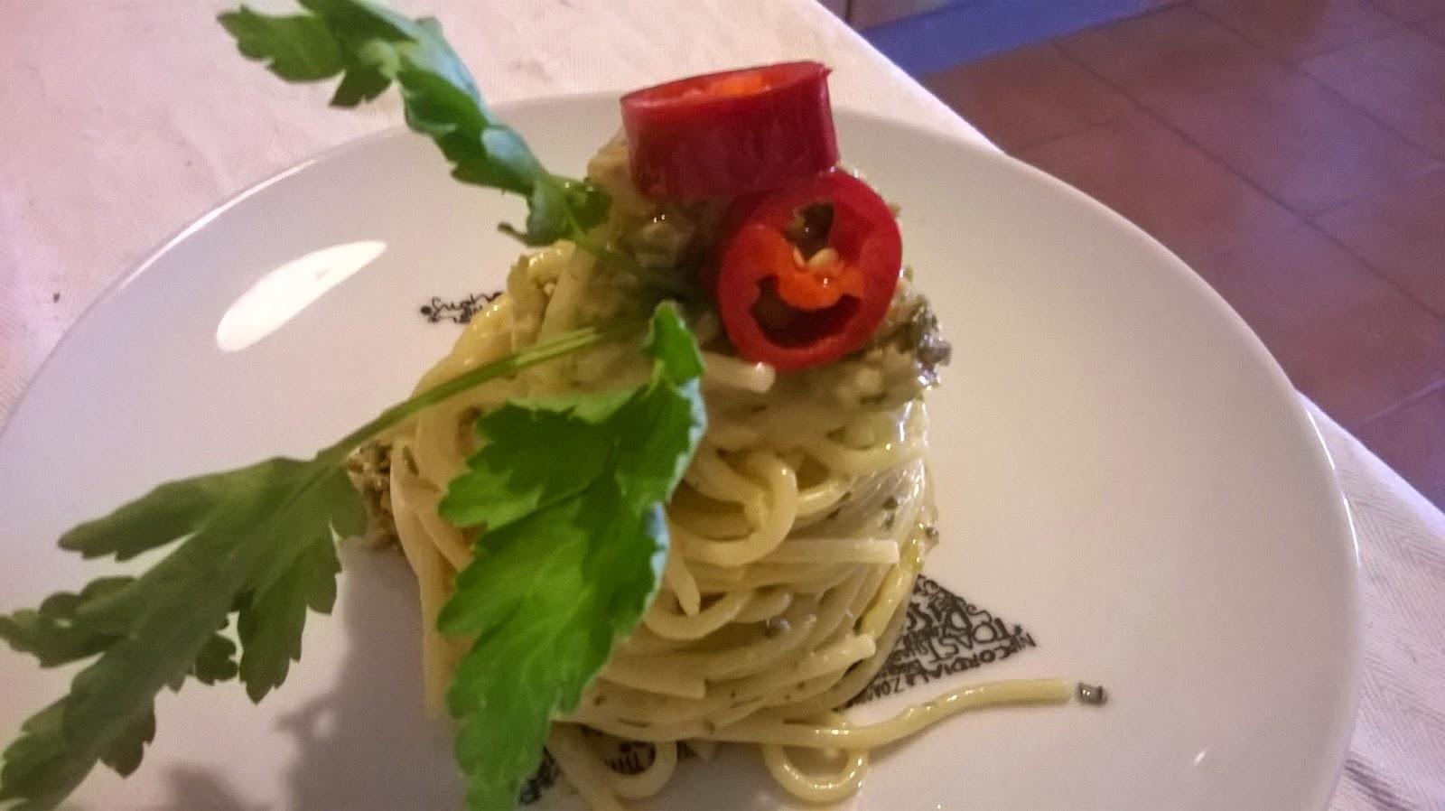 Spaghetti pausa pranzo ... la mia pasta aglio, olio e peperoncino