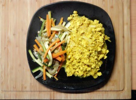 Scrambled V-Eggs (uova strapazzate vegane)