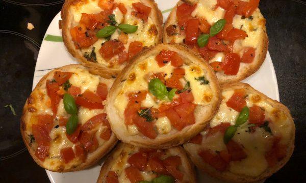 Pizzette di Pane al Forno