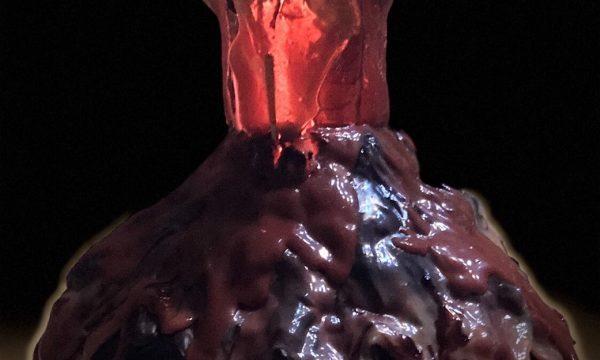Torta Vulcano al cioccolato
