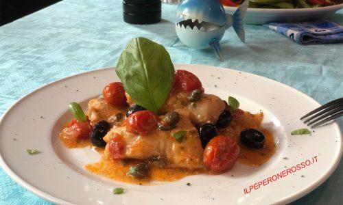 Filetti di pesce alla mediterranea