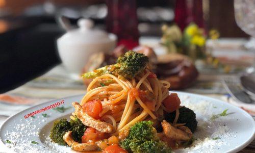 Spaghetti casale al vino bianco