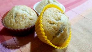 muffin con scaglie di cioccolato