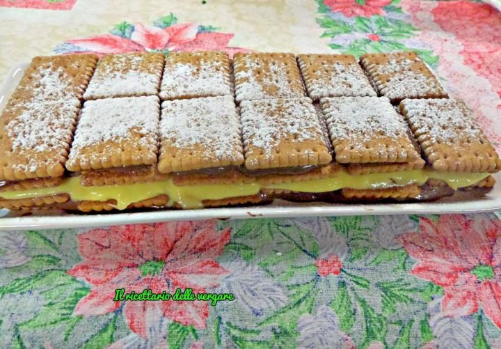mattonella di biscotti