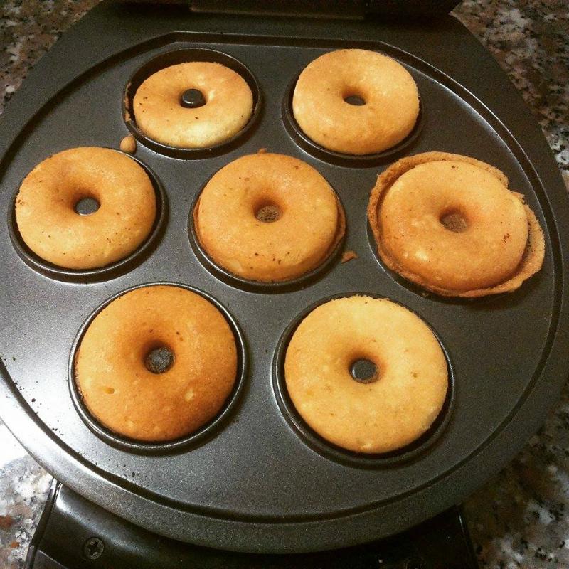 Ricetta Donuts Con Piastra Elettrica.Ciambelline Mini Donuts Il Ricettario Delle Vergare