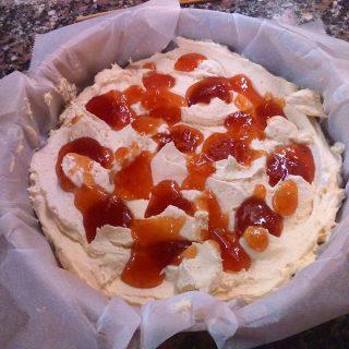 torta con la marmellata