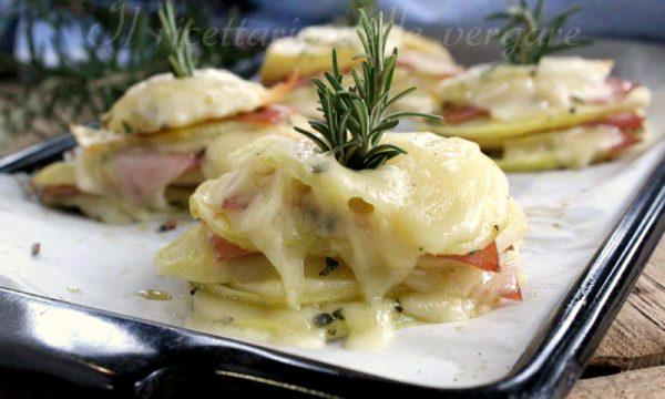MILLEFOGLIE DI PATATE con formaggio