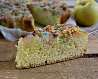 torta con mele arlecchino