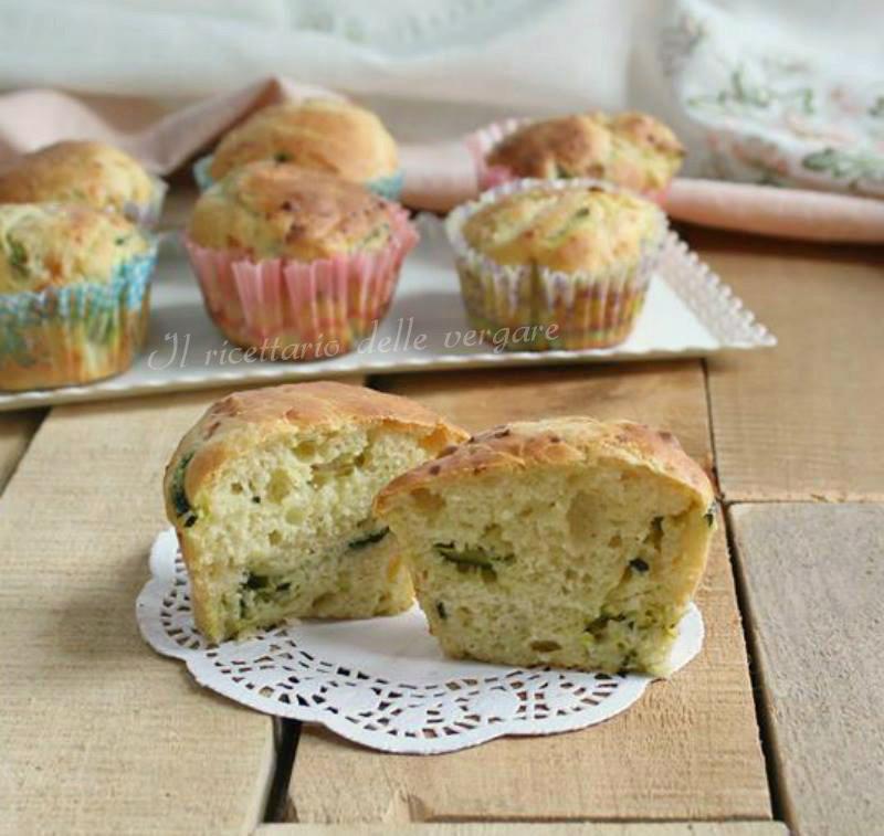 muffin zuchine e formaggio