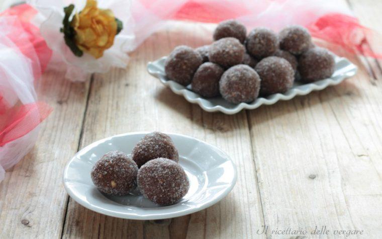 Praline di cioccolato e arancia