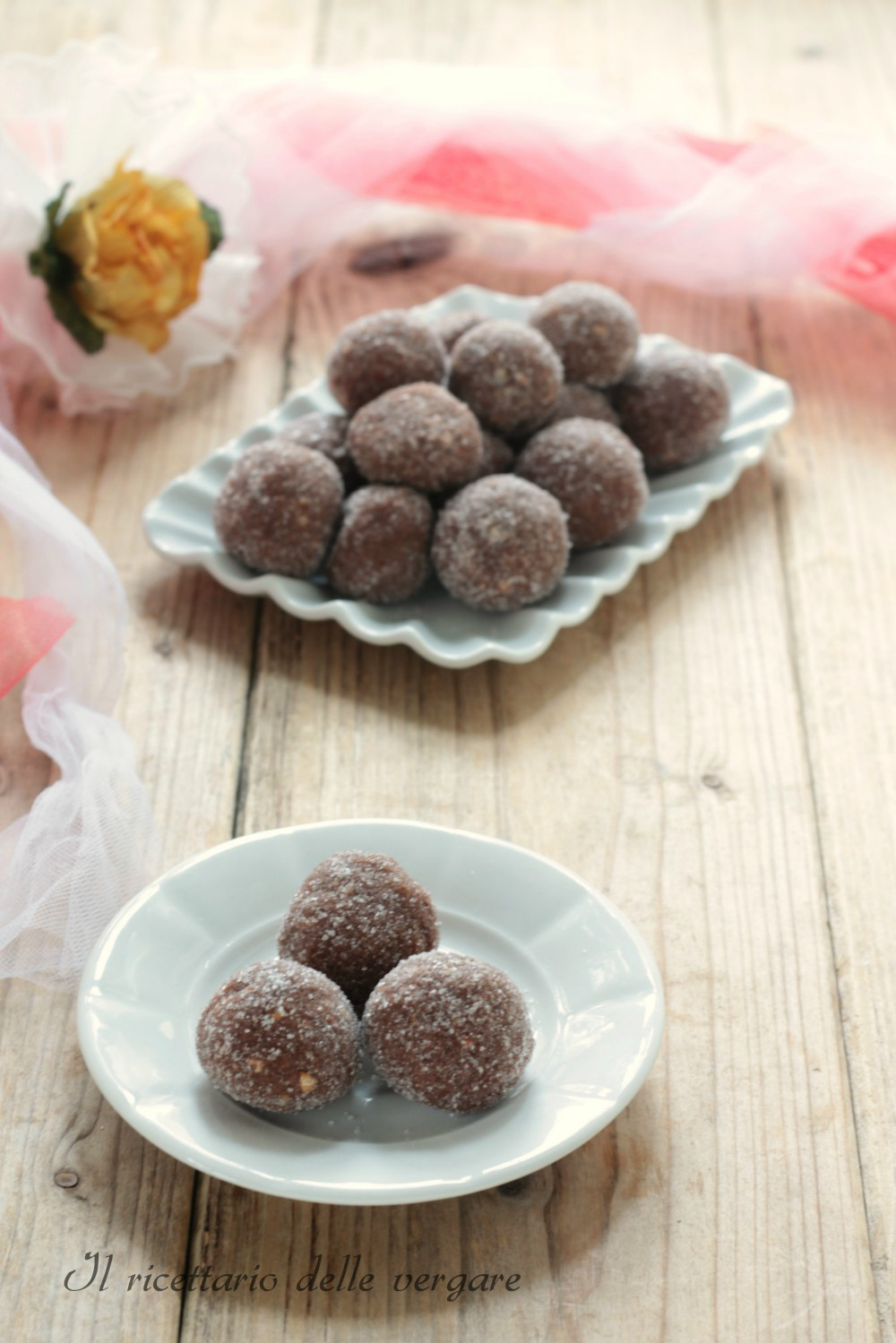 Praline di cioccolato e arancia il ricettario delle vergare - Bagno di cioccolato ...