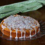 Torta con arancia soffice