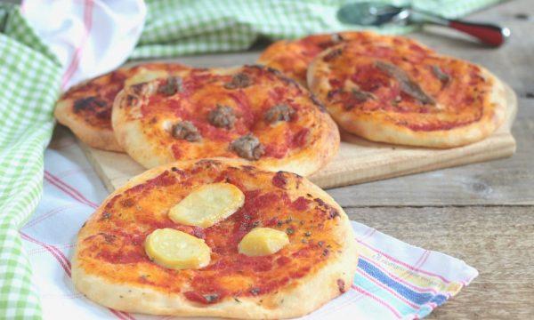 Pizzette miste come quelle del bar