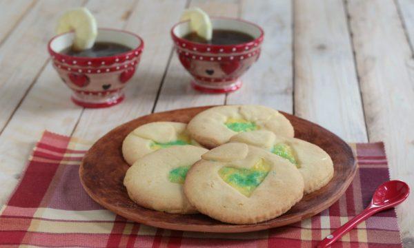 Biscotti di pasta frolla con crema