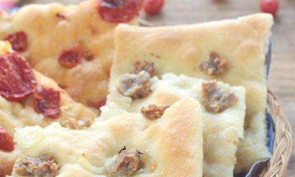 Pizza in teglia impasto BONCI