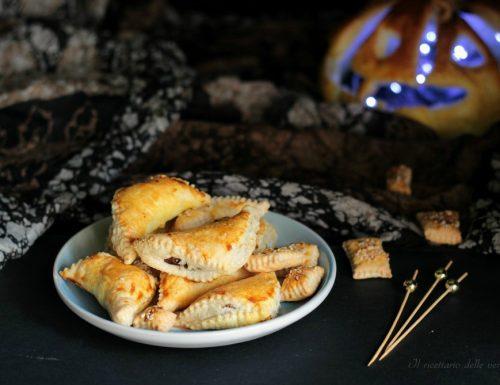 Mezzelune con funghi e zucca