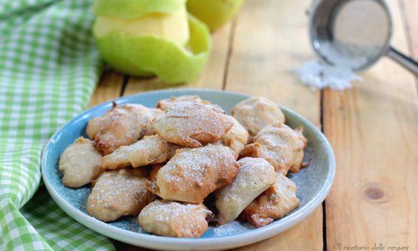 Biscotti con buccia di mela