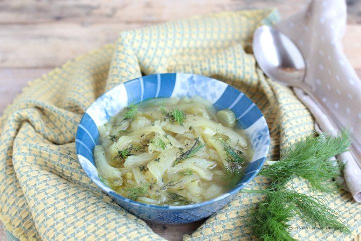 Zuppa di cipolle e finocchi