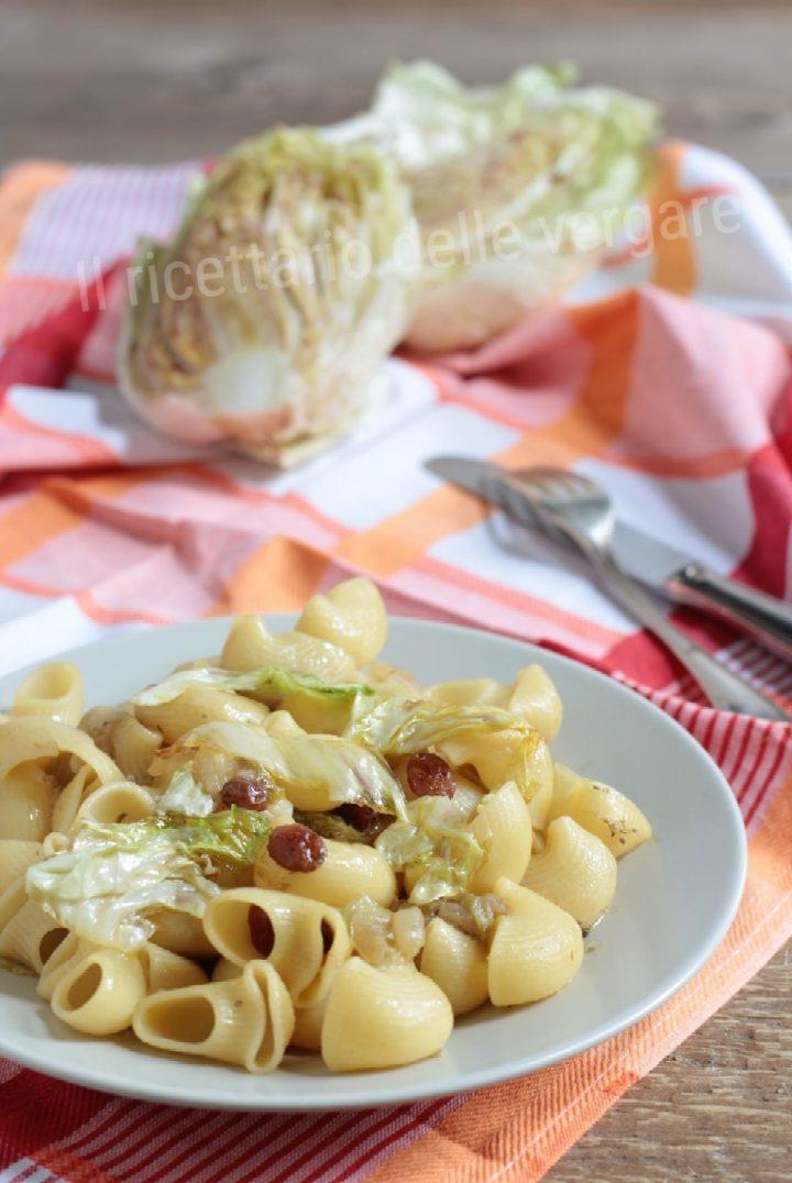 Pipe con radicchio variegato di Castelfranco