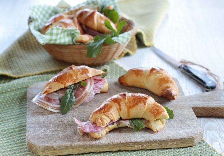 Cornetti  salati di pan brioche