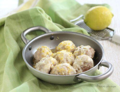 Polpette in bianco al limone
