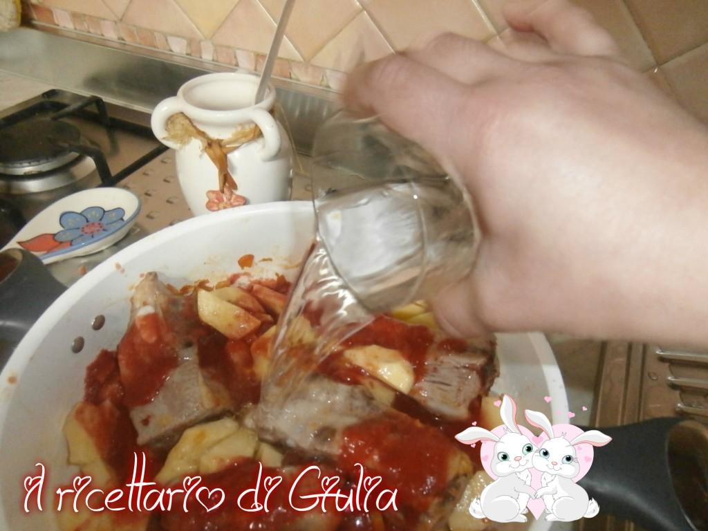 Costine  patata e chinata