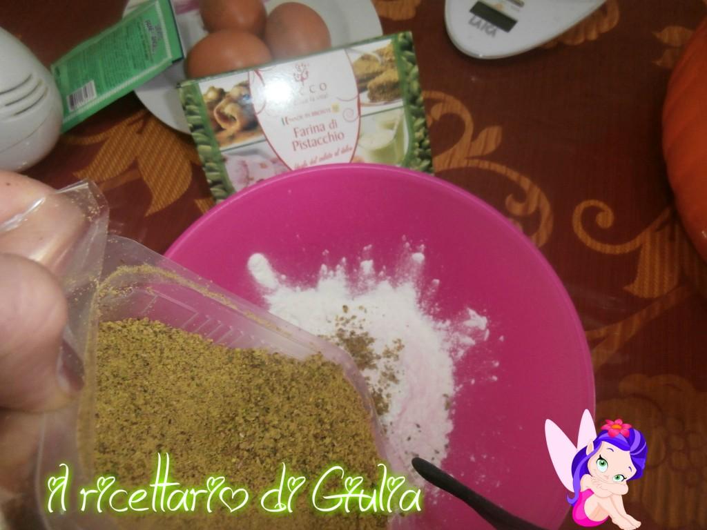 Torta al pistacchio di Bacco