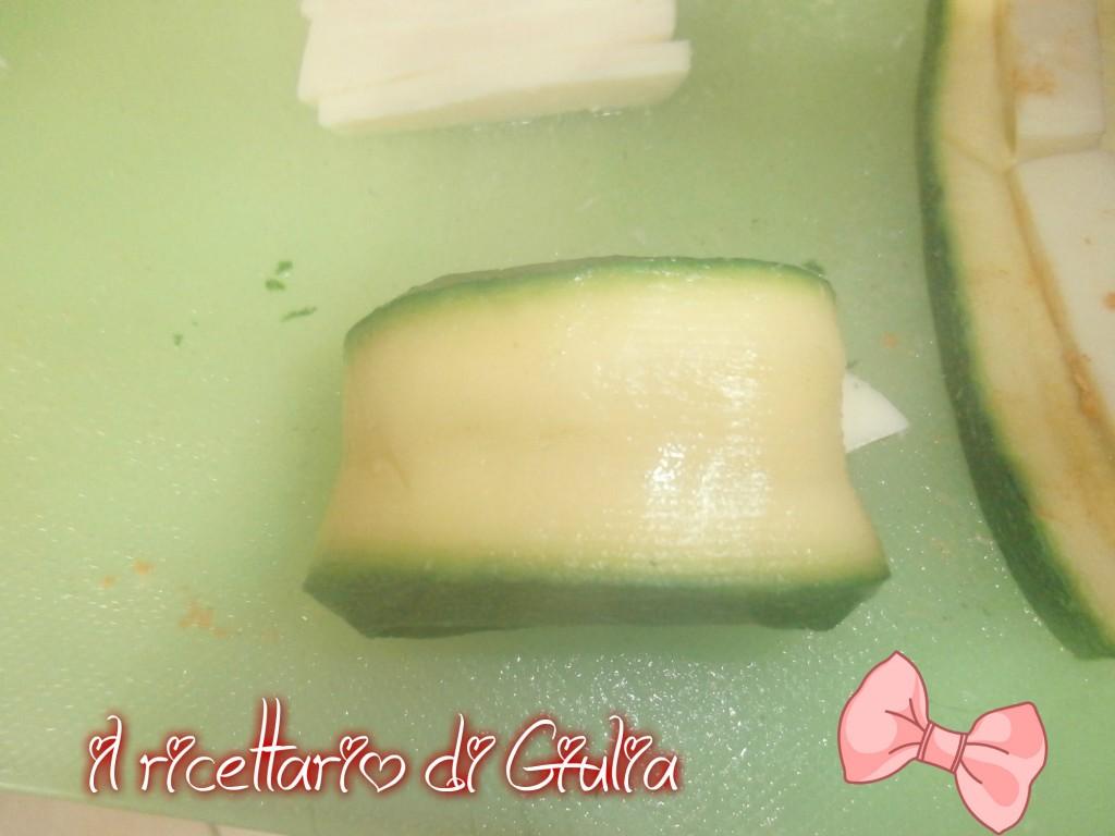 Zucchine al forno con chinata