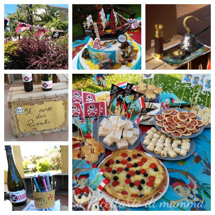 Matrimonio Tema Pirati : Pirati festa a tema per bambini il ricettario di mamma