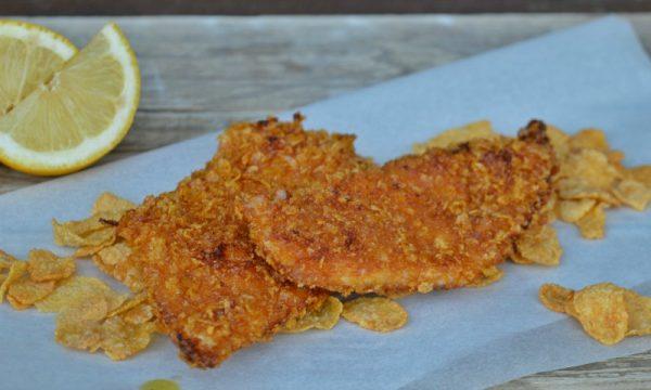 Petto di pollo con corn flakes