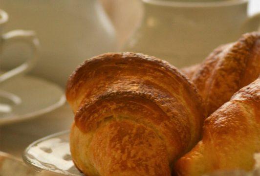 Croissant prima ricetta, Massari e Zoia