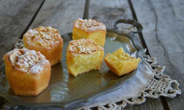 Muffin alle mele e limone senza glutine