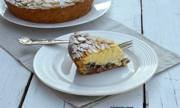 Bakewell tart con crema di ricotta