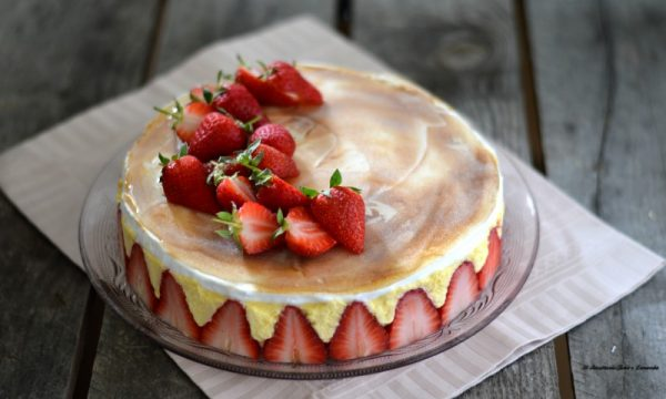 Fraisier – Torta di fragole