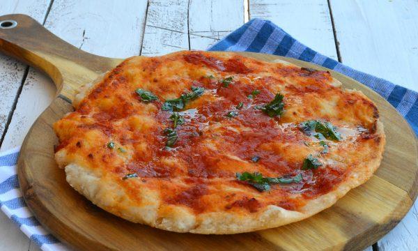 Pizza in teglia senza glutine