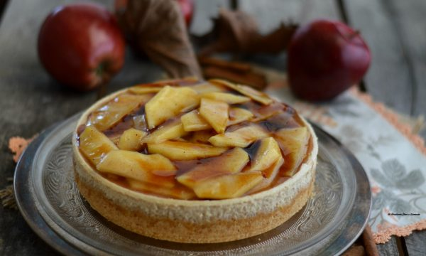 Cheesecake alle mele – Apple cheesecake