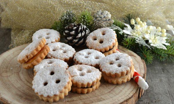 Biscotti tirolesi senza glutine-Spitzbuben