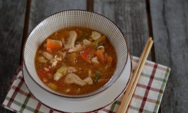 Straccetti di pollo in salsa agrodolce