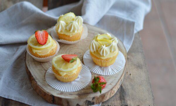 Cupcakes al limone con farina di riso