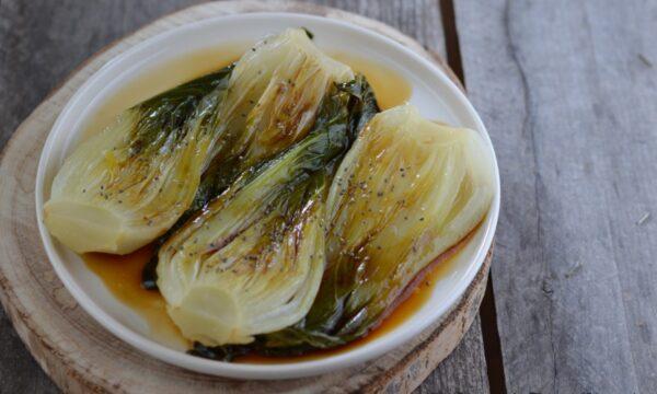 Pak-choi in salsa di soia