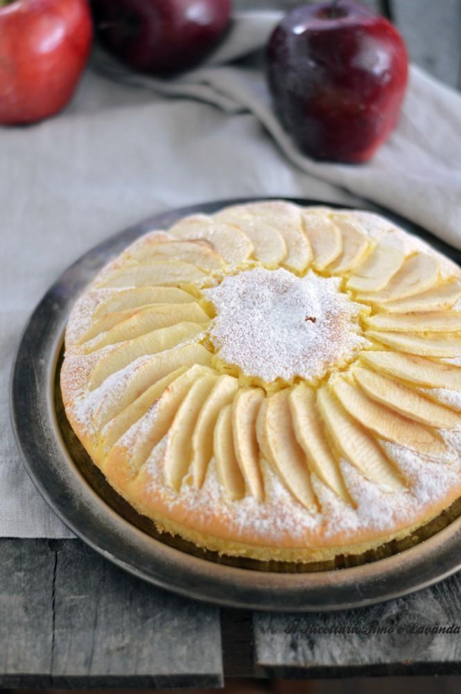 torta di mele con yogurt greco