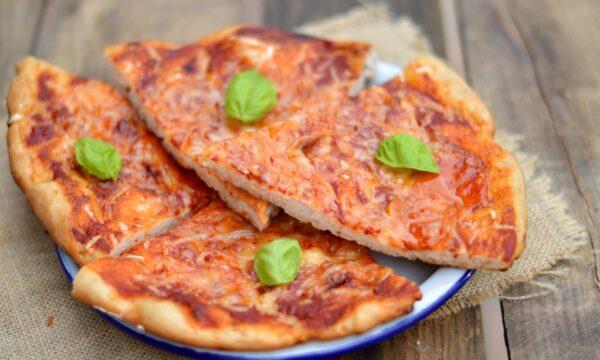 Pizza senza glutine a lunga lievitazione