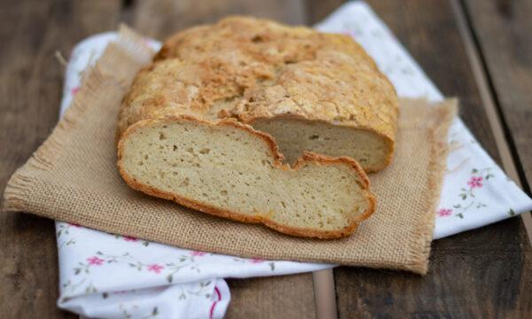 Pane con farine naturali